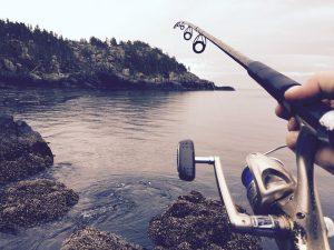 rios para pesca con gusanos
